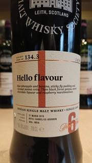 SMWS 134.3 - Hello flavour