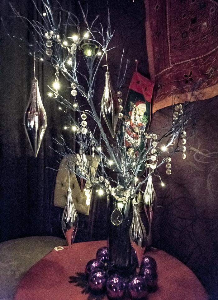 Loviisan Wanhat joulutalot talo nro 19 Kimmon joulumaa Kimmo Lonka itämainen huone sisustusidea erilainen joulukuusi