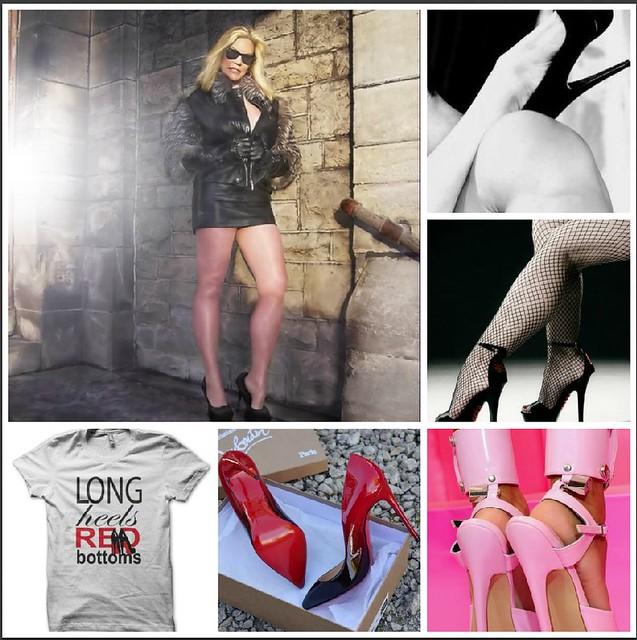 Long Heels, Red Bottoms