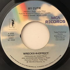 WRECKX-N-EFFECT:MY CUTIE(LABEL SIDE-A)