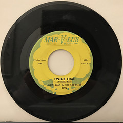 ALVIN CASH & THECRAWLERS:TWINE TIME(RECORD SIDE-A)