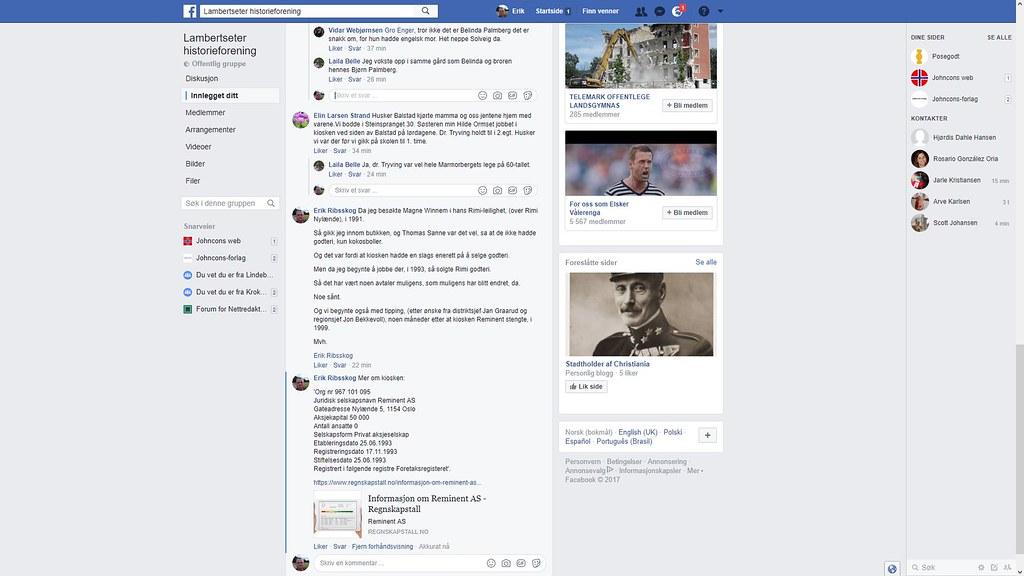 facebook reminent balstad