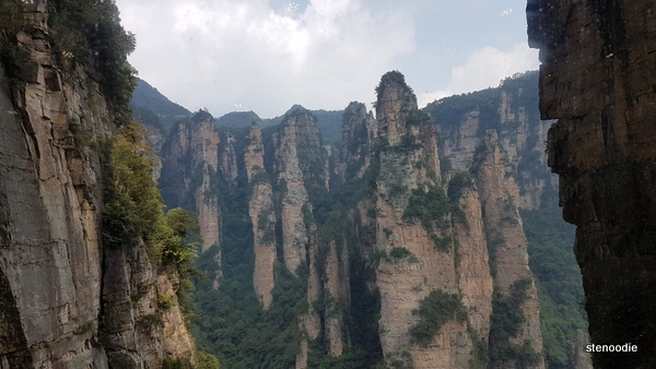 Tianzi Mountain elevator