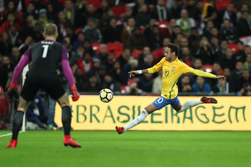 Inglaterra x Brasil em Wembley, Londres