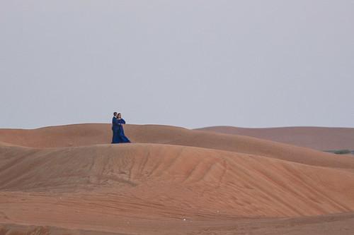 Romance in the dunes
