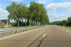 Route Nationale N6 - Auxerre (France)