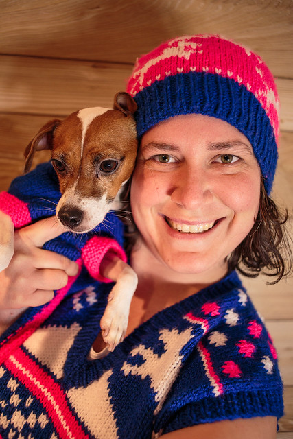 Flyball Christmas Sweater-6957
