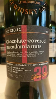 SMWS G10.12 - Chocolate-covered macadamia nuts