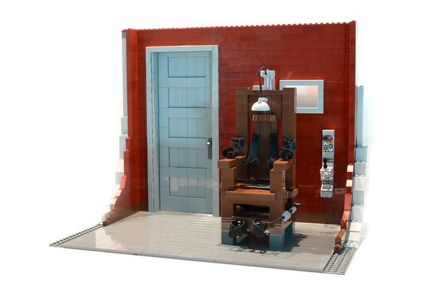 Lego Electric Chair - atana studio