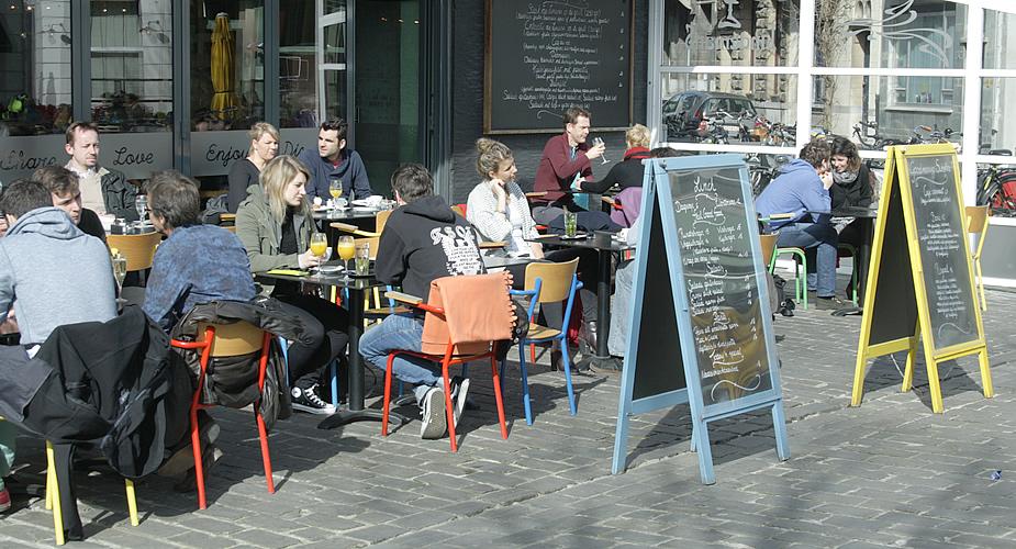 Uit eten in Antwerpen, lunchen in Antwerpen: Aan het strand van Oostende | Mooistestedentrips.nl