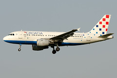 9A-CTH  Croatia Airlines Airbus A319-112
