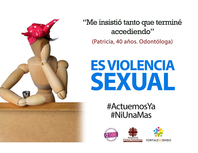 Frente a todos los tipos de violencia contra la mujer ¡Actuemos ya!
