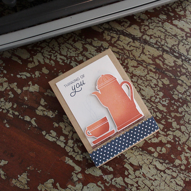 Thinking Of You Tea Folder