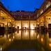 Roman bath, Bath , England