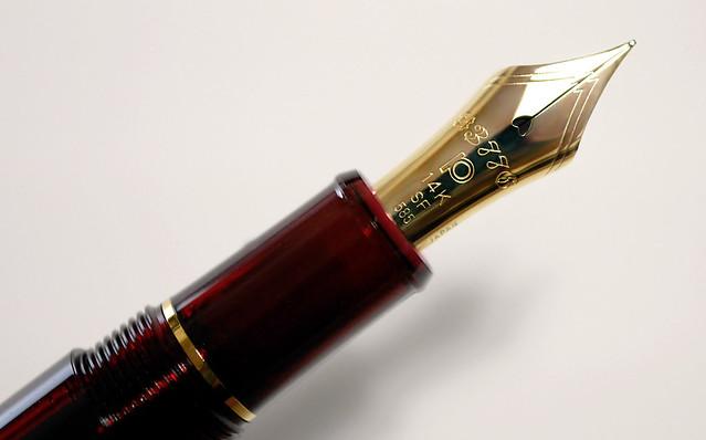 プラチナ万年筆 #3776 センチュリー ブルゴーニュ 金ペン PLATINUM Century Bourgogne