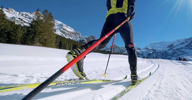 Zázračné běžkování ve Švýcarsku