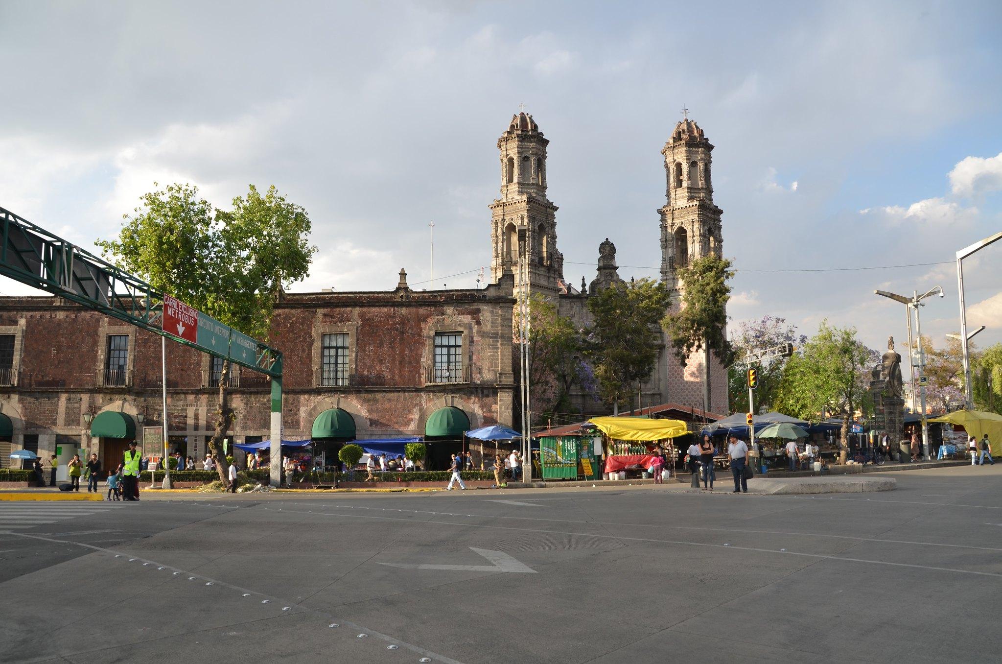 メキシコシティイダルゴ駅