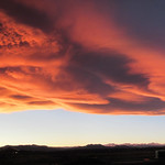 19. November 2017 - 17:25 - A classic Colorado wave cloud sunset tonight.