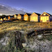 Mudeford Huts at Dawn