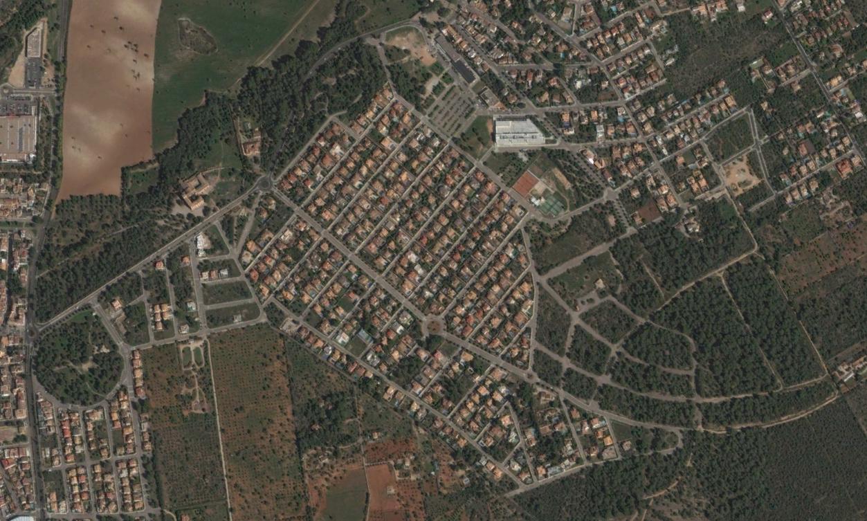 urbanización sant marçal, islas baleares, romaokupa, después, urbanismo, planeamiento, urbano, desastre, urbanístico, construcción, rotondas, carretera