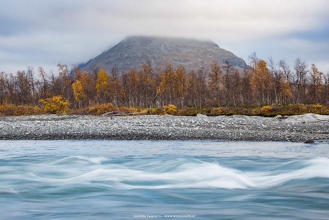 Rapa river in Sarek National Park