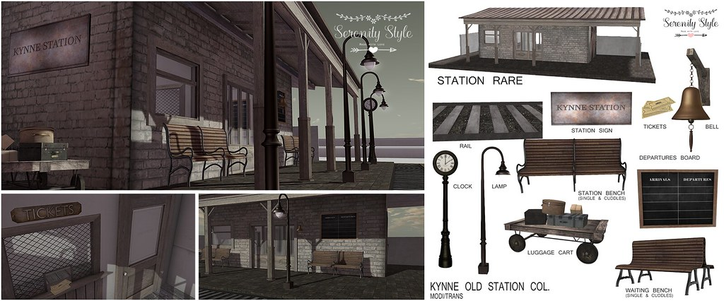 Serenity Style- Kynne Old Station for PocketGacha