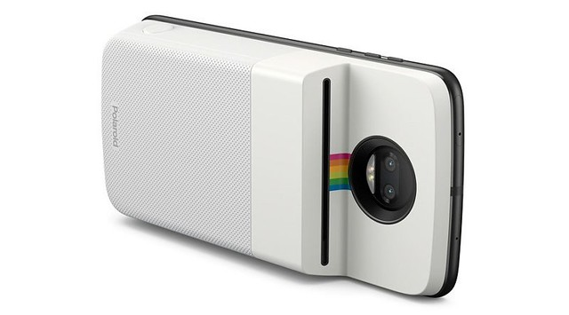 L'imprimante Insta-Share de Polaroid transforme votre smartphone Moto Z en appareil photo instantané