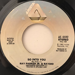 RAY PARKER JR. AND RAYDIO:A WOMAN NEEDS LOVE(JUST LIKE YOU DO)(LABEL SIDE-B)