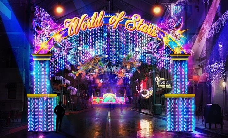 World of Stars at New York zone