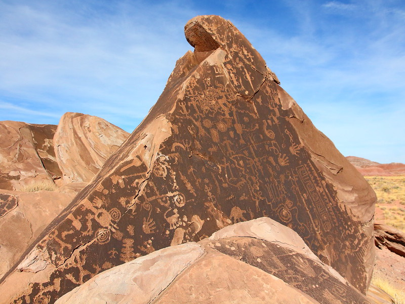 IMG_2159 Petroglyph, Petrified Forest National Park