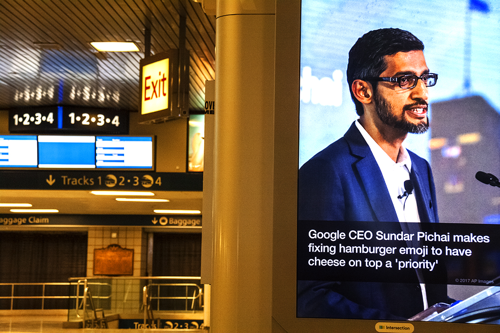 Google CEO--Manhattan
