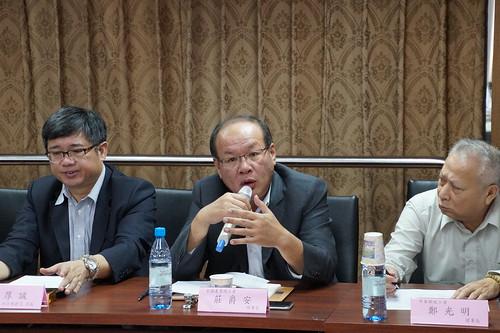 圖01.莊理事長出席勞動部舉辦之台美工會領袖座談會(1060915)