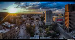 San Antonio at sunset