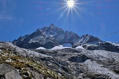 Aiguille du Midi depuis la gare des glaciers