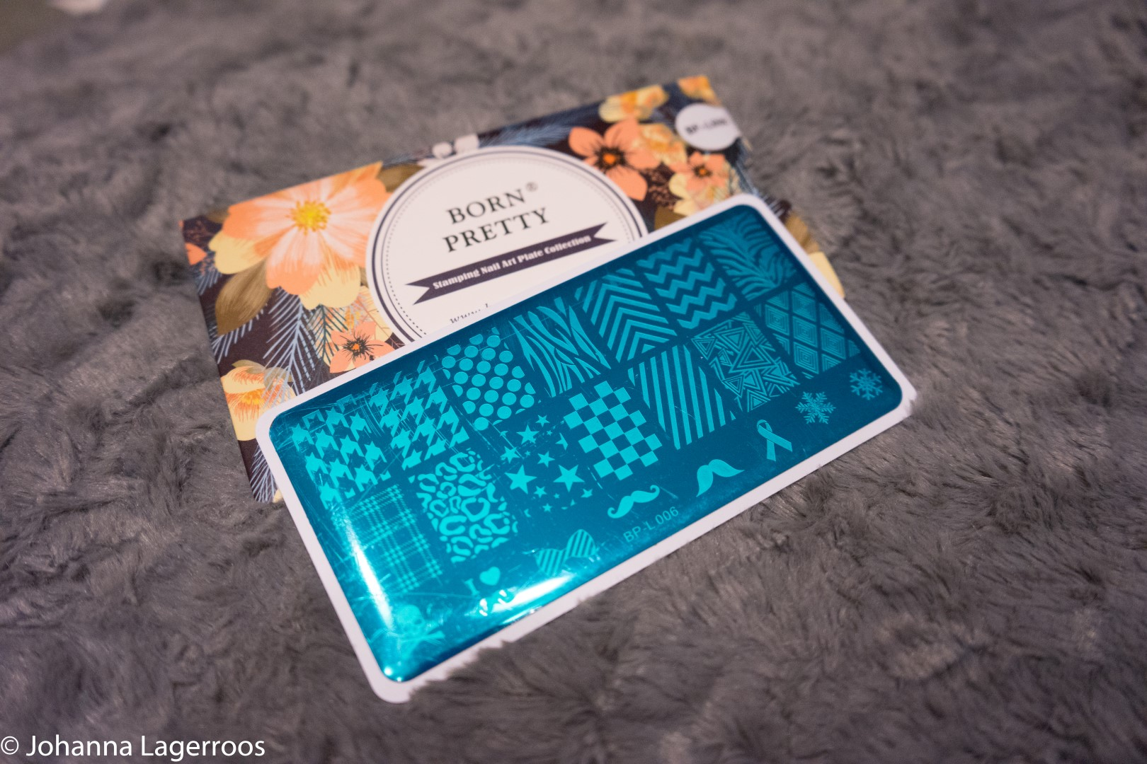 pattern stamping plate