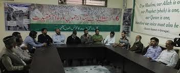 AJK-APHC Remembers Jammu Martyrs