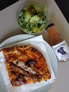 Pesto Potato Salad, BBQ Chicken Hawaiian Pizza, Sugar & Spice from Smith & Deli
