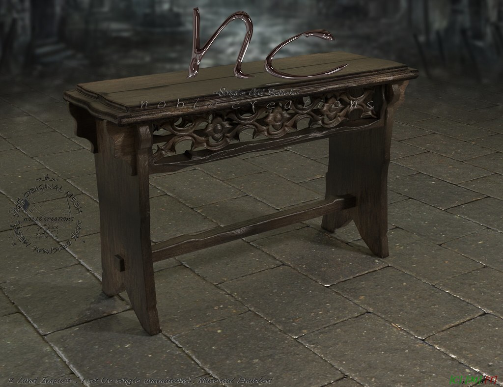 [NC] – Single Old Bench – NEW HUNT GIFT!! 3outof3