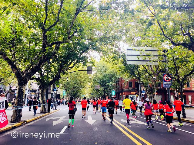上海馬拉松2017淮海中路