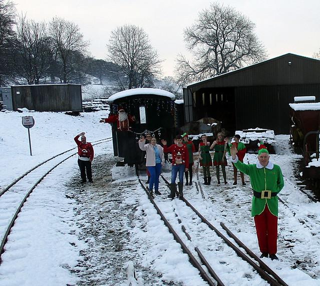 Santa & Helpers