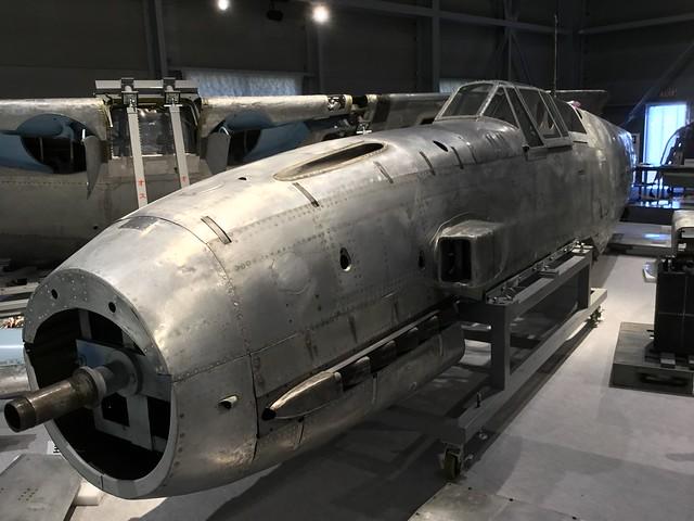 陸軍三式戦闘機飛燕 かかみがはら航空宇宙科学博物館収蔵庫 504