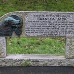 Memorial to Swansea Jack