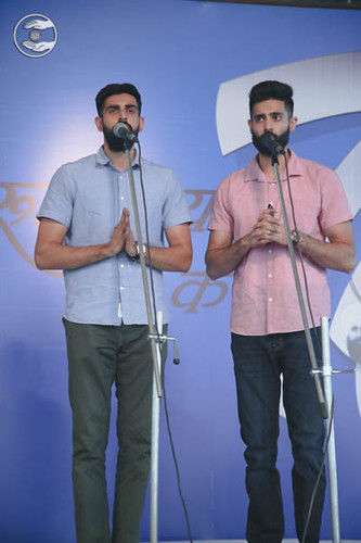 Devotional song by Romy and Saathi from Toronto, Canada
