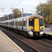herts - great northern 387120 passing stevenage 09-11-17 JL