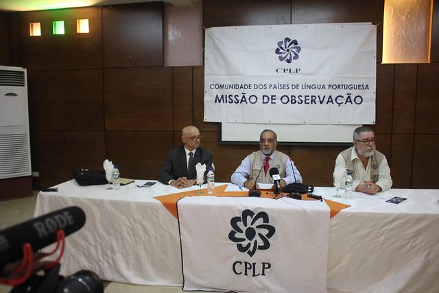 Missão de Observação Eleitoral da CPLP às Eleições Gerais para a Câmara de Deputados, Senado e Municipais na Guiné Equatorial