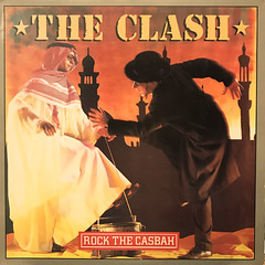 THE CLASH:ROCK THE CASBAH(JACKET A)