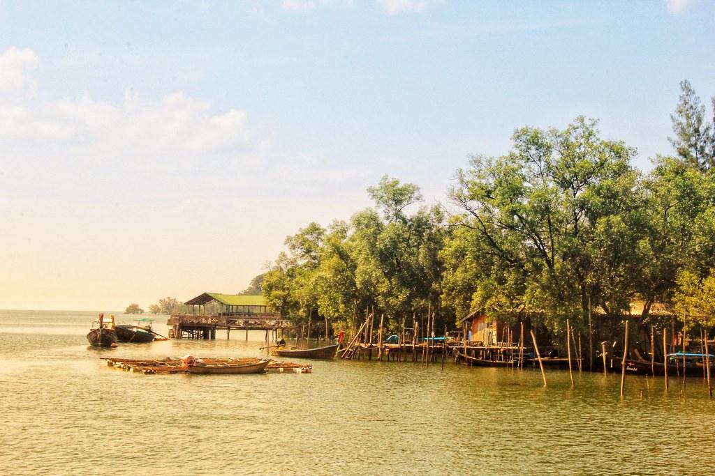 Tha Len Pier, Krabi