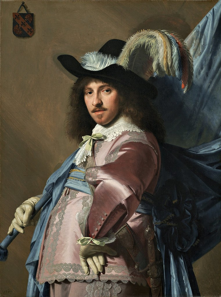 Johannes Verspronck - Andries Stilte as a Standard Bearer (c.1640)