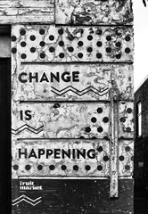 Change is happening...