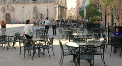 Outdoor Cafe in Havana
